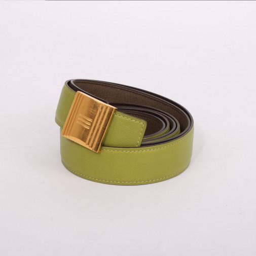 Hebilla de cinturón Cadenas + 2 cueros