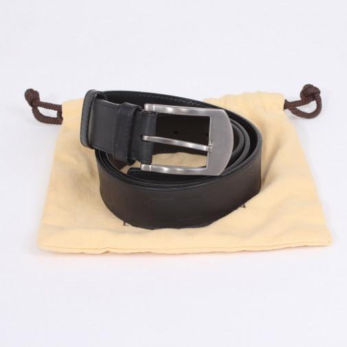 Cinturon de cuero Damier Infini Somptueux T.90
