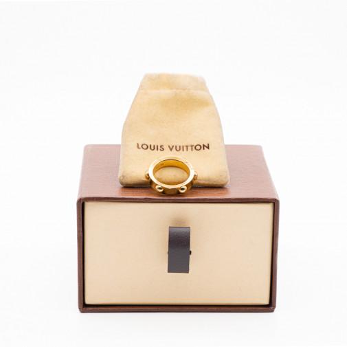 Anillo Clous oro amarillo 18q y diamante