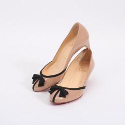 Zapatos charol beige talla 36