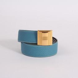 Cinturón Cadenas de cuero reversible