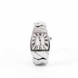 Reloj de mujer La Dona Modelo grande y acero.
