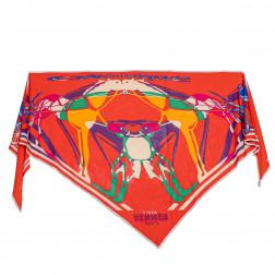 Triangle  Calèche Elastique en jersey de soie fluide