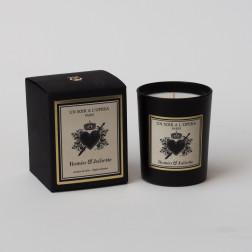 Vela perfumada ROMEO y JULIETA  Jazmín de la noche, según el ballet de Prokofiev (Vendido en juegos de 2 velas)