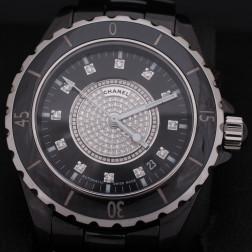 Reloj J12 38mm pavimentado con diamantes