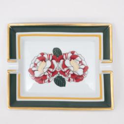 Cenicero Roses modelo grande de porcelana