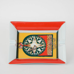 Cenicero de porcelana Rose des Sables