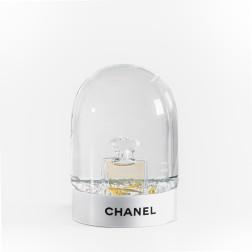 Bola de nieve Botella N ° 5 Chanel edición limitada