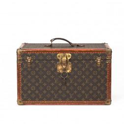 Pequeño baúl de viaje en lona Monogram - Pedido especial