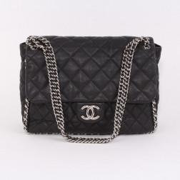 Sac Chain Around Maxi Jumbo Flap Bag